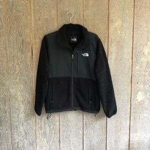 North Face black fleece Jacket. Medium.